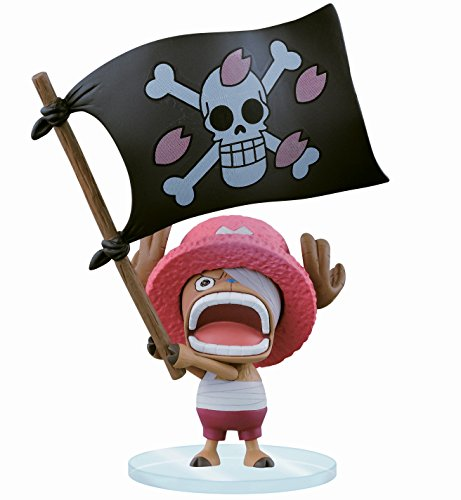 Banpresto One Piece Dramatic Showcase 8th Season Volume 1 Flag Holding Chopper Action Figure