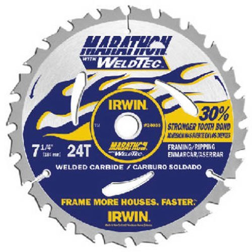Irwin Industrial 24035 Framing/Ripping Weldtec Saw Blade - Irwin Industrial Saw