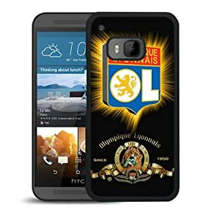 Popular Custom Designed Cover Case For HTC ONE M9 With Lyonnals Black Phone Case 2
