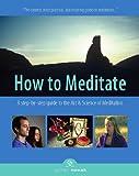 How to Meditate, Third Edition, Jyotish Novak, 1565892348