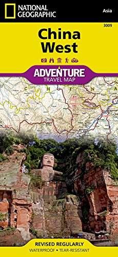 China West (National Geographic Adventure Map)