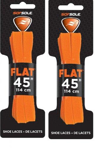 Sof Sole Unisex Athletic Flat Shoe Neon Lace,
