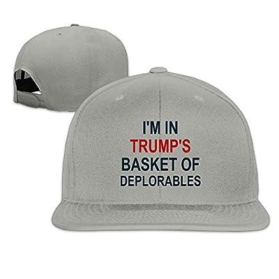 Karoda Proud Member Of The Basket Of Deplorables Flat Brim Baseball Caps Hip Hop Hat