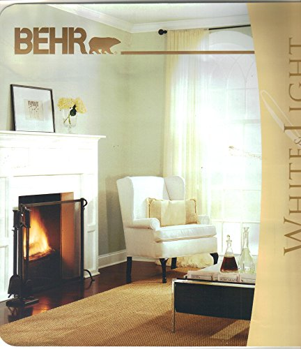 Behr White & Light Collection, Interior Exterior Acrylic Paint Finishes, Brochure, Color (Exterior Paint Finishes)
