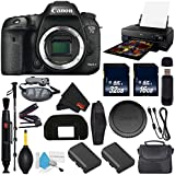 6Ave Canon EOS 7D Mark II DSLR Camera (Body Only) International Version (No Warranty) + Epson SureColor P800 Inkjet Printer + 16GB & 32GB SDHC Class 10 Memory Card + Carrying Case Bundle