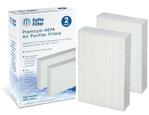 Honeywell True HEPA Compatible Filter, HRF-R2, HRF-R3, Filter R (HRF-R2, 2-Pack) (R Filter Type Hepa)