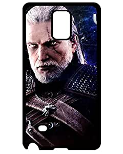 4289461ZJ122378654NOTE4 Hard Case With Fashion Design Witcher 3 - SpeedArt by Serafiell Samsung Galaxy Note 4 phone Case Team Fortress Game Case's Shop