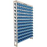 Kit Estante Gaveteiro com 108 Gavetas N°3 Azul-PRESTO-8340A