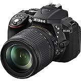 "Nikon D5300 + Nikkor 18/105VR Fotocamera Reflex Digitale, 24,1 Megapixel, LCD HD 3"" Regolabile, Nero [Versione EU]"