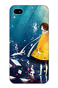 Guidepostee Protection Case For Iphone 4/4s / Case Cover For Christmas Day Gift(Anime Original)