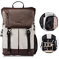 TARION RB-02 Camera Backpack with Waterproof Rain Cover and Laptop Compartment for SLR/DSLR/Mirrorless Camera Bag