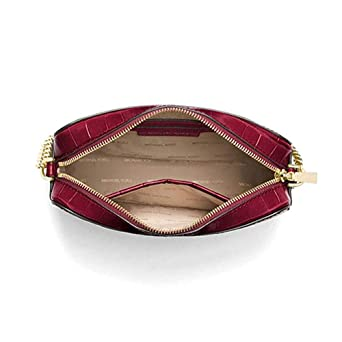 f8758109a839 Image Unavailable. Image not available for. Color  Michael Kors Ginny  Ladies Medium Leather Crossbody Bag 32F7GGNM2E666