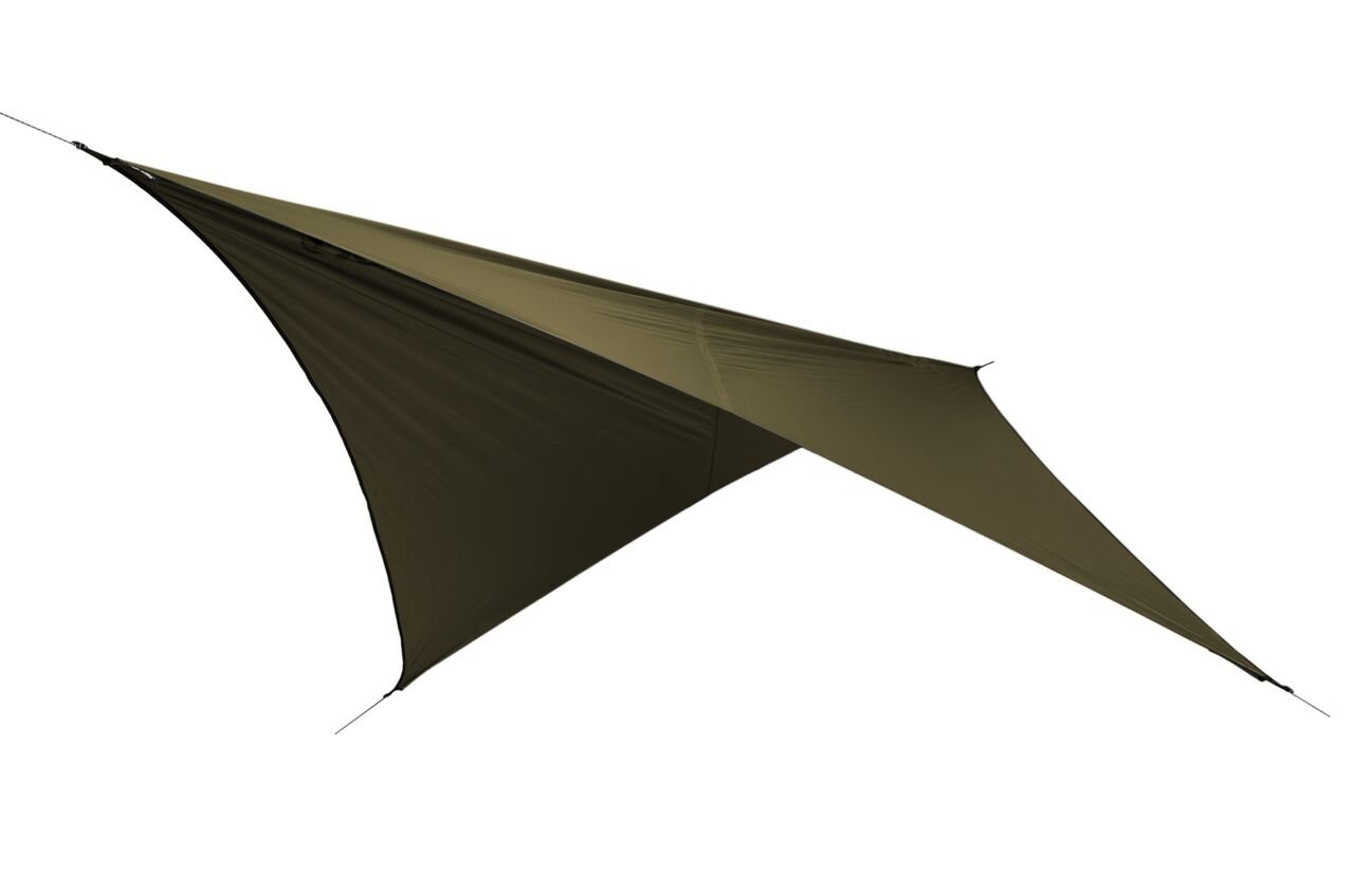 ENO Eagles Nest Outfitters - FastFly Rain Tarp, Olive by ENO