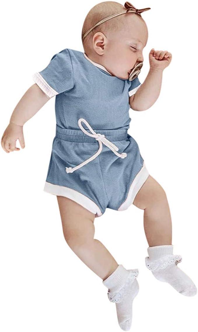 Headband Clothes Set puseky Infant Baby Boys Girls Dinosaur Outfits Stripe Hoodie Shirt Pants