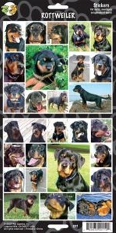 (Pet Qwerks S37 Rottweiler Dog Sticker)