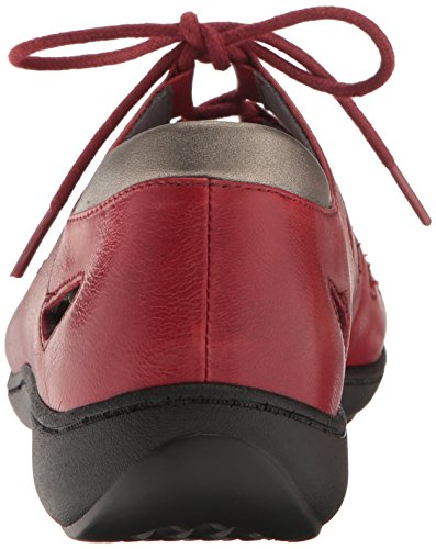 Sandal Flat Ghillie Bromly Red Women Aravon znqxZfWx
