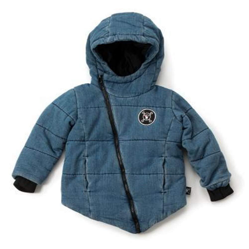 bleu 6T HCMONSTER Doudoune pour Enfants Winter Garçons et Filles Enfants Jeans Coat VêteHommests Enfants Vestes Manteau Enfant en Bas Âge