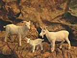 Collectible Figurines Animals Goat 3 Set Nativity Scene Manger 5'' - USA_Mall