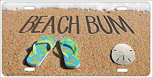 beach bum license plate frame - 6