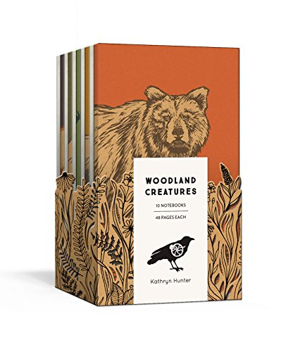 (Woodland Creatures: A 10 Notebook Set (Blackbird Letterpress) )