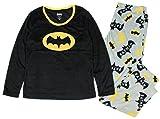 DC Comics Batgirl Batman Minky Fleece Pajama Sleep Set