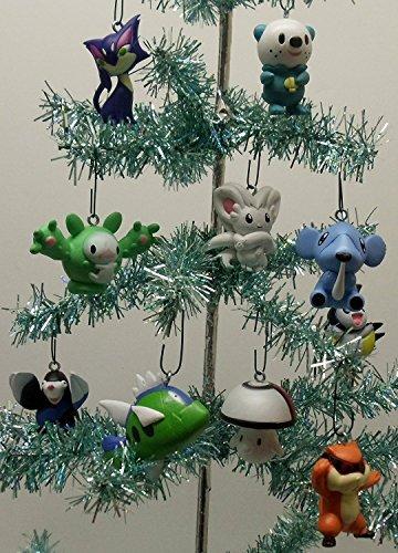 Pokemon Christmas Ornaments.Pokemon Random 10 Piece Mini Holiday Christmas