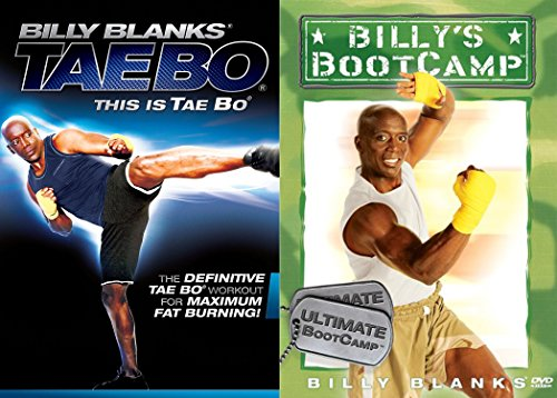 Billy Blanks Exercise Bundle - Billys Bootcamp Ultimate BootCamp & Tae Bo: This is Tae Bo 2-DVD Bundle