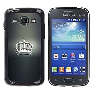 iKiki Tech / Estuche rígido - Blanca Corona - Samsung Galaxy Ace 3