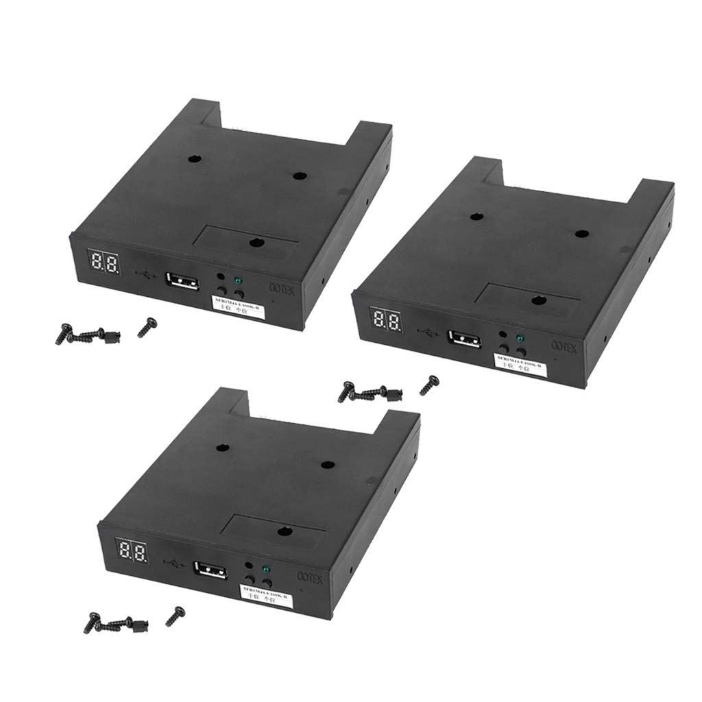 Baosity 3Pieces SFR1M44-U100K-R USB Floppy Drive for Roland E68 E96 G800