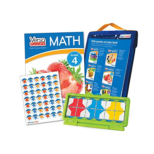 Math Games For Kids By VersaTiles (Ages 9+) | Learning Essential Math Skills At Home (Self Guided Puzzle Workbook & Self Checking Answer Case) | Great Gift For Girls & Boys