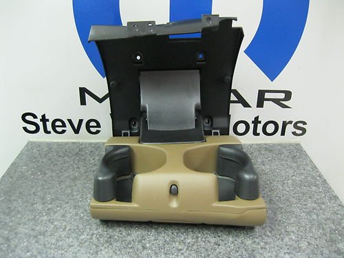1998-2002 Dodge Ram 1500 2500 3500 Tan Instrument Panel Cup Holder OEM NEW MOPAR (Tan Tan Instruments)