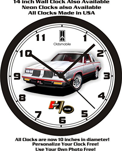 1984 OLDSMOBILE CUTLASS HURST/OLDS WALL CLOCK-FREE USA SHIP! (1984 Cars)