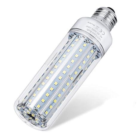 TLPOPP Bombillas LED Bombilla de luz LED para maíz E27 Bombilla de aluminio E14 220V,
