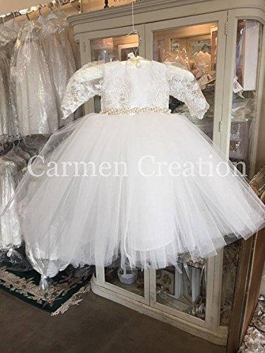 Madeline Baptism Dress by Carmen Creation