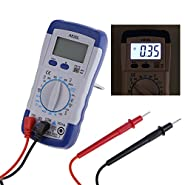 Alloet A830L Digital LCD Multimeter MINI Pocket Hand-held Multitester DC AC Voltage Diode Freguency