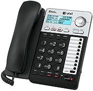 AT&T ML17929 2-Line Corded Telephone, Black (Renewed)