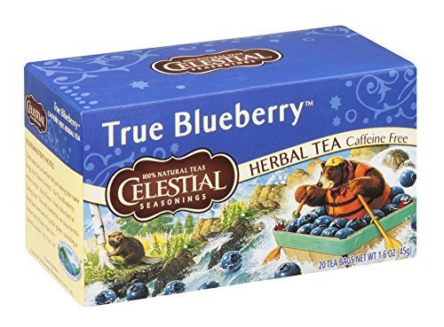 (Celestial Seasonings True Blueberry Herb Tea (Pack of 6))