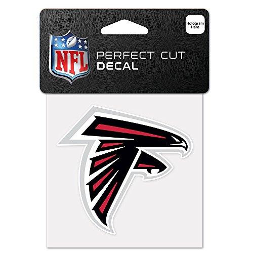 NFL Atlanta Falcons 63036011 Perfect Cut Color Decal, 4