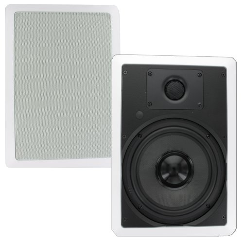 Theater Solutions TS80W 8-Inch Kevlar In Wall Speakers