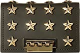 ZAC Zac Posen Women's Earthette Card Case with Chain - Star Stud Forest One Size