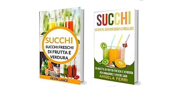 ricette di succhi nutrienti per perdere peso