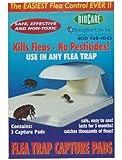 Springstar S103 Biocare Flea Trap Capture Pads, 2 Packs of 3 Pads Per Box, Total 6 Pads