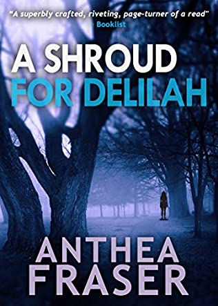 book cover of A Shroud for Delilah