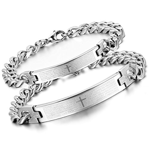 Flongo Couples Stainless Spainish Bracelet