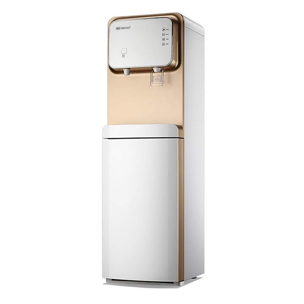 Floor-Standing Instant Hot Water Dispenser Bottom Load Hot and Cold, Easy Water Change and Child Safety Lock, Perfect for Tea & Coffee & Cool Chilled Water, for Offices and Homes