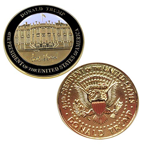 (Rystinworks Donald Trump Inauguration Challenge Coin -Limited Edition- Commemorate The 45th President of The United States - A Presidential Collector Item)