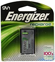 Energizer Rechargeable 9v Battery, 175mah, Single