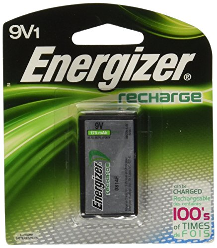 Energizer NH22BP ACCU 9-Volt Rechargeable Battery