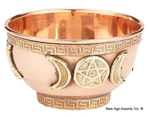 New Age Imports, Inc... New Age Imports, Triple Moon Pentacle 3