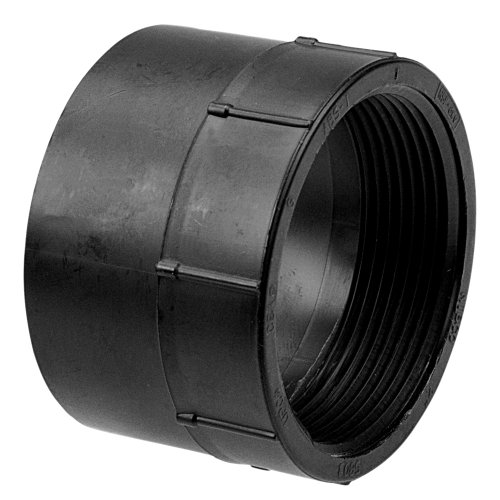 (NIBCO 5803 ABS Pipe Fitting, Adapter, Schedule 40, 3